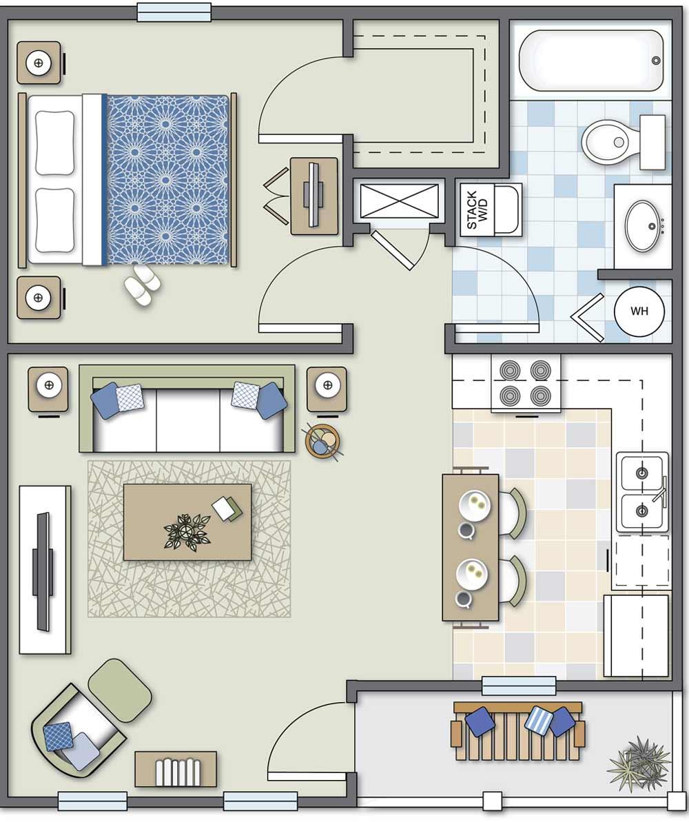 Independent Living Standard: One-Bedroom