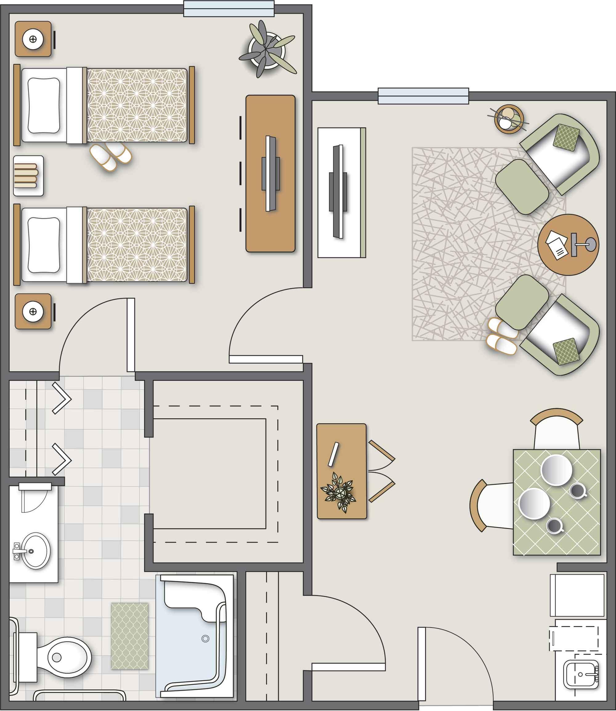 Bethel One-Bedroom