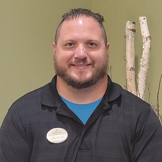 Josh Davis, LPN - Wellness Director for Pinnacle Assisted Living